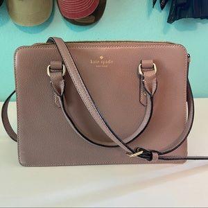 Kate Spade Mulberry Satchel Crossbody Bag